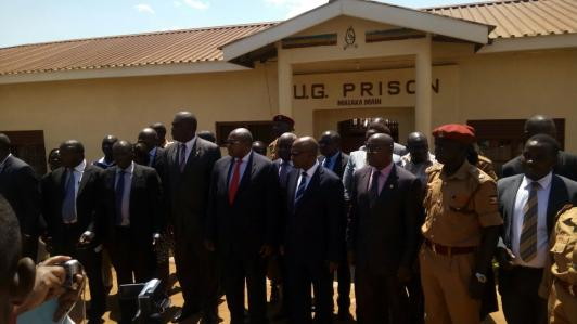 Plea Bargaining M&E in Masaka Prison