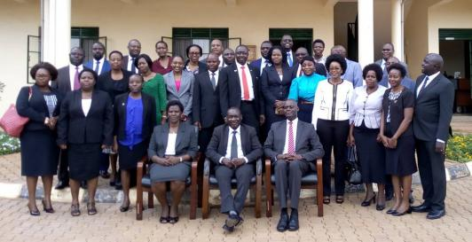 Induction of Newly Promoted Judicial Officers